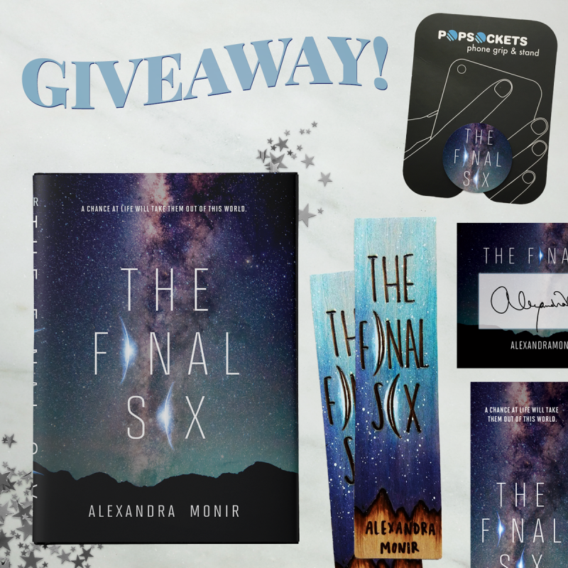 The Final Six Giveaway Prizes